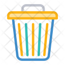 Trash Delete Dustbin Icon