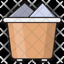 Trash Basket Wastage Icon