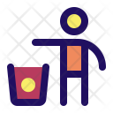 Trash Bin Sign Icon