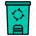 Bin Trash Basket Icon