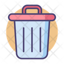Trash Bin Dustbingarbage Icon