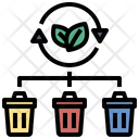 Bin Eco Lifestyle Recycle Icon