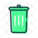 Trash Recycle Education Icon