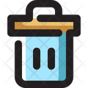 Trash Garbage Basket Icon