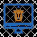 Trash Rubbish Dustbin Icon