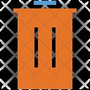 Trash Bin Dustbin Icon