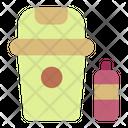 Trash Garbage Bin Icon