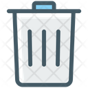 Trash Bin Recycle Icon