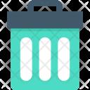Trash Bin Dust Icon