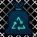 Trash Bag Rubbish Garbage Icon
