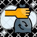 Bag Garbage Trash Icon