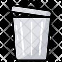 Trash Bin Trash Can Garbage Bin Icon