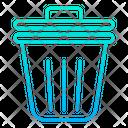 Trash Bin Dustbin Wastage Icon