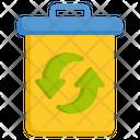 Trash Bin Rubbish Bin Trash Can Icon