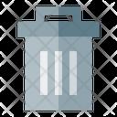 Trash Bin Healtcare Cleaning Icon