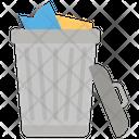 Dustbin Garbage Can Trash Bin Icon