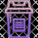 Trash Bin Copy Icon