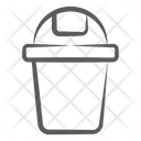 Trash Can Dustbin Garbage Can Icon