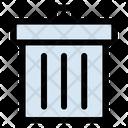 Trash Can Delete Ecommerce Icon