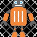 Trash Can Robotized Icon