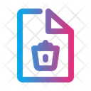 Trash File Icon