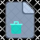 Trash File Trash Remove Icon