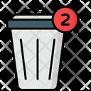 Trash Notification Deleted Erase Icon