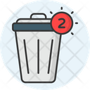 Trash Notification Icon