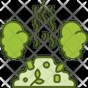 Trash Pollution Icon
