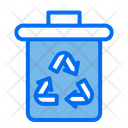 Trash Recycle Battery Power Icon