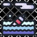 Trash Sea Garbage Trash Icon