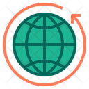 Travel Arround The World Travel World Tour Icon