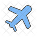 Travel Airplane Aircraft Icon