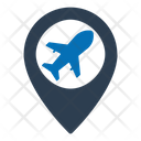 Plane Shipping Traveling Icon
