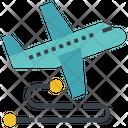 Travel Transmit Route Icon