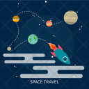 Travel Galaxy Education Icon