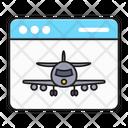 Travel Tour Online Icon