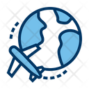 Travel Global Delivery Holidays Icon