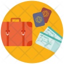 Travel Fly Holiday Icon