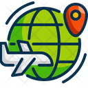 Travel Outdoor Travel Bag Icon
