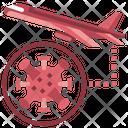 Travel Flight Prohibition Icon