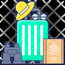 Travel Accessories Accessories Bag Travel Equipment Icon