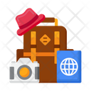 Travel Accessories Travel Equipment Baggage Icon