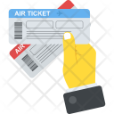 Air Ticket Airline Icon