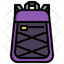 Travel Backpack Camping Travel Bag Icon
