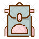 Travel Bag Bag Bagpack Icon