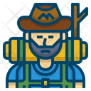 Iadventure Hiking Hiker Icon