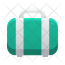 Travel Bag Summer Sunny Day Icon