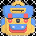 Travel Bag Backpack Baggage Icon