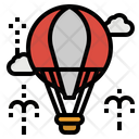 Balloons Hot Air Icon